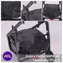 Cubre Cesta Uppababy Cruz NAPA NE 2014.Negro tititnins
