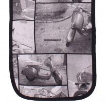 Colchoneta Silla VESPA NE.3D/Negro tititnins