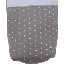 Saco Hamaca Mountain Buggy Duet LOVE.Pique Celeste/Gris