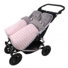 Conjunto 2ud. Saco Silla Invierno Mountain Buggy Duet INDI RS.
