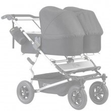 Funda Colchón Capazo Mountain Buggy Duet Carrycot Plus GRIS MELANGE (PACK 2ud) tititnins