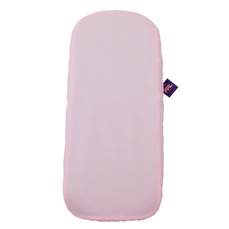 Funda Colchón Capazo Mountain Buggy Duet Carrycot Plus PIQUE ROSA (PACK 2ud) tititnins