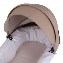 Funda Capazo Stokke Trailz y Crusi PIQUE BLANCO