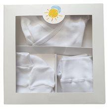 Pack nacimiento primera puesta Algodón Blanco