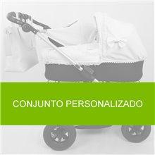 Conjunto Saco y Neceser Bugaboo Camaleon NUEZ