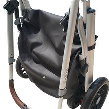 El cubre cesta uppababy vista te permite el correcto plegado de tu silla.