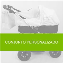 Funda Capazo Cybex Priam Lux 2019-21 Velcro. PLUMETI BLANCO