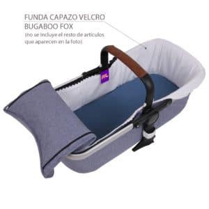Funda Capazo Velcro Bugaboo Fox S/Capota